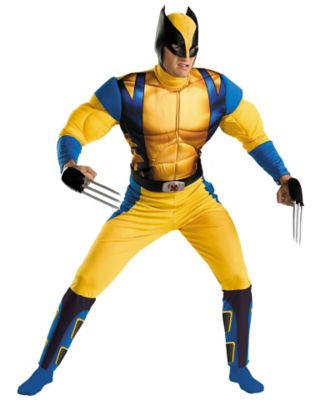 Marvel Comics X-Men Wolverine Adult Costume