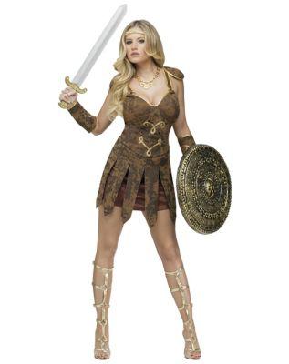 Gladiator Adult Womens Costume