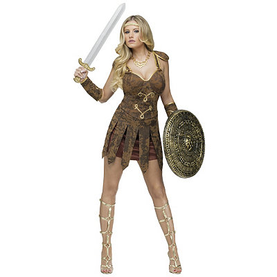 Gladiator Adult Womens Costume