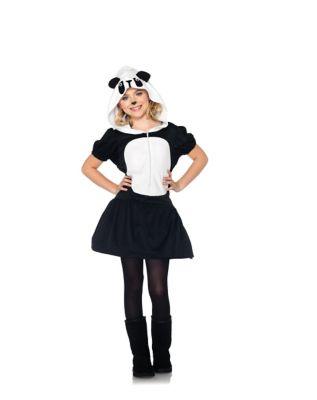 Playful Panda Girls Costume