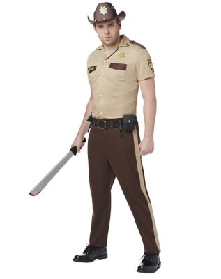 Walking Dead Rick Grimes Mens Costume