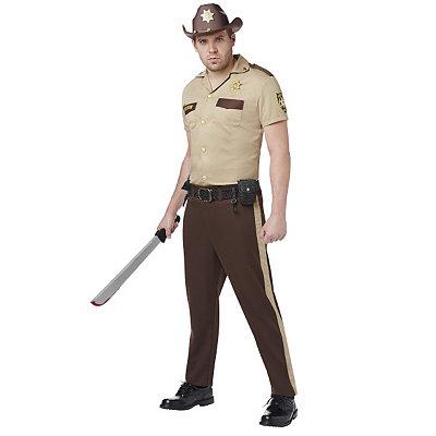 Walking Dead Rick Grimes Mens Costume