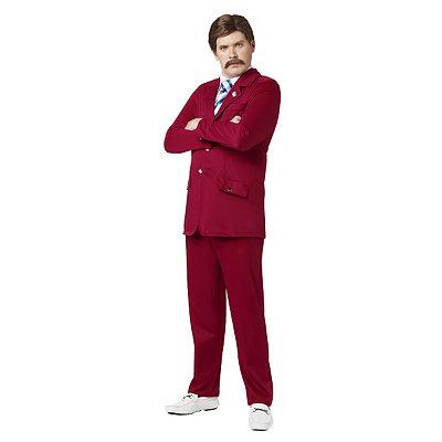 Anchorman Ron Burgundy Adult Costume
