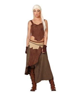Game of Thrones Daenerys Targaryen Dothraki Womens Costume