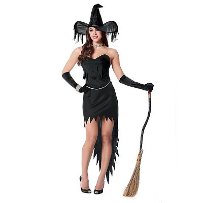 Witch Rhinestone Womens Costume