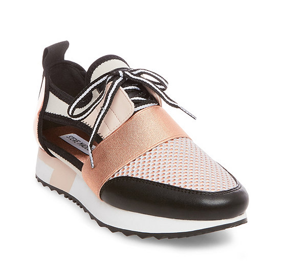 Arctic Sneaker in Metallic Copper. - size 8 (also in 10,6,7,7.5,8.5,9,9.5) Steve Madden