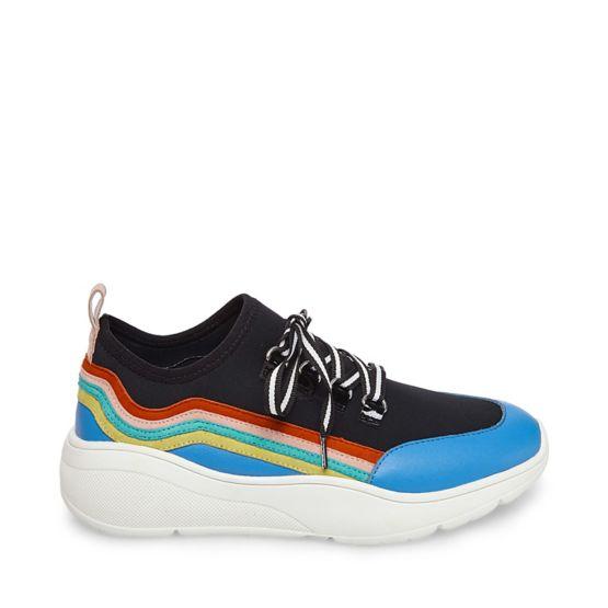 Steve Madden Women's Cavo Rainbow Sneaker