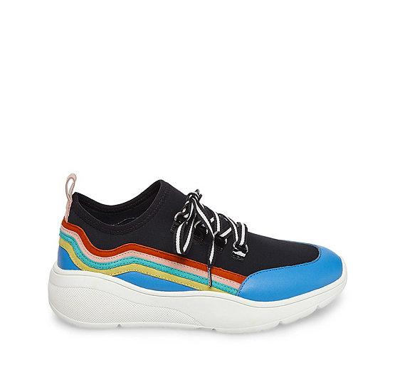 Steve Madden Women's Cavo Rainbow Sneaker 2Mb1USH5SL