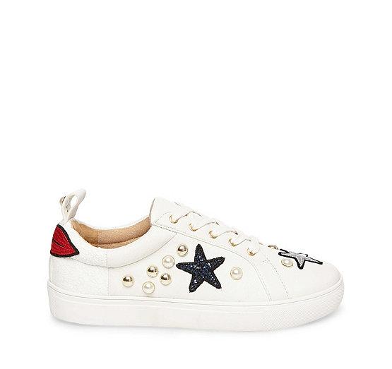 Steve Madden Sneaker STEVE MADDEN BELLE WHITE MULTI Para La Buena Línea Expreso Rápido Orden De Salida Más Barato JhNZsGKZ