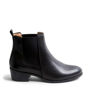 DOVER BLACK LEATHER