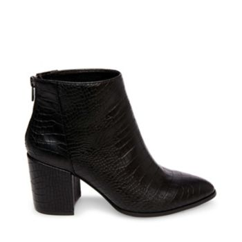 This season we\\\'re obsessed with the JILLIAN! With perfect proportions and clean lines, this bootie serves up peak style while simultaneously promising versatility and comfort that can\\\'t be beat. Leather upper material Man-made lining Man-made sole 2.75 inch heel height 10 inch shaft circumference 3.75 inch shaft height Functional back zipper Pointed toe Chunky heel