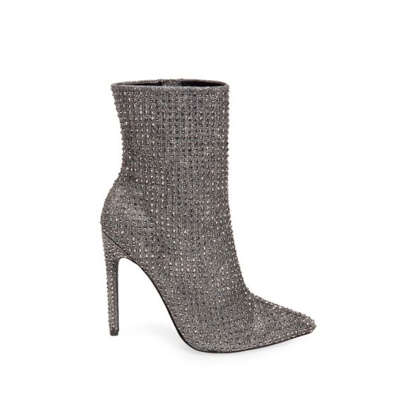 Steve Madden Crushing Boot - Silver