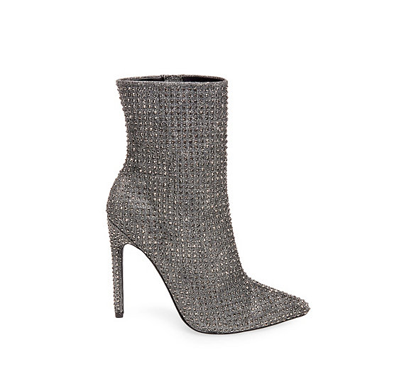 Steve Madden Crushing Boot - Silver WN7dwyUSB