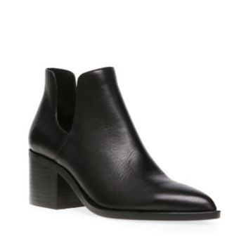 Leather or suede upper material Man-made lining Man-made sole 2.5 inch heel height 3.5 inch shaft height