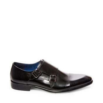 Stevemadden dress bowen black leather side
