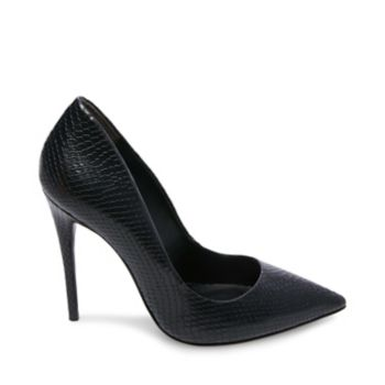 The perfectly proportioned DAISIE pump is sexier than ever this season with faux snakeskin surfaces! Step into this stilettoed stunner to polish your look with an exotic twist. Snake PU upper material Man-made lining Man-made sole 4 inch heel height