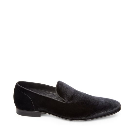 Steve Madden Smoking Velvet Loafer