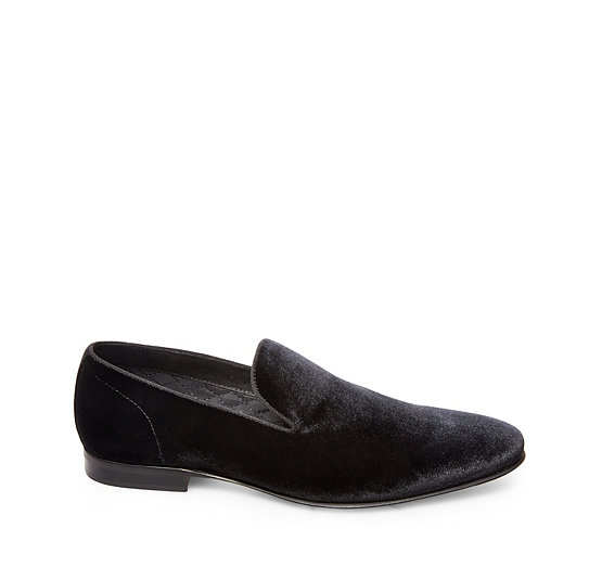 Steve Madden Smoking Velvet Loafer From China Free Shipping Low Price Cheapest Cheap Price Supply Online Footlocker Sale Online Nd5wnw9vEQ
