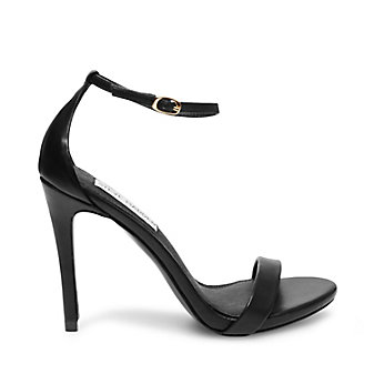 Strappy Black Stilettos