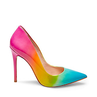 Shoes With Colored Heel