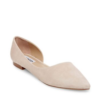 Stevemadden flats audriana natural suede