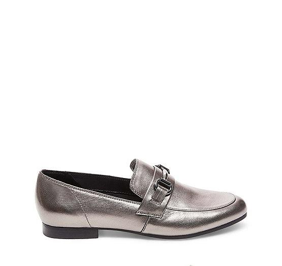 Loafers for Women On Sale, Black, Leather, 2017, 3.5 4.5 5.5 7.5 Steve Madden