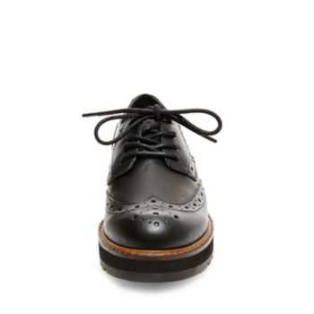 Leather, fabric, pony hair, or man-made upper material with hardware Fabric lining Man-made sole 1 inch heel height