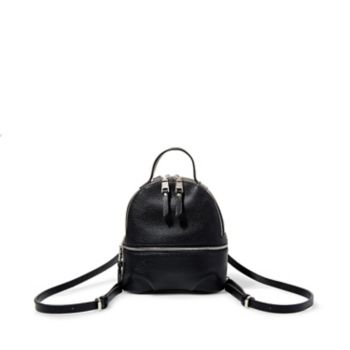 It\\\'s impossible not to be charmed by BJACKI, as the backpack\\\'s shrunken proportions and clean aesthetic make it modern day\\\'s answer to our favorite \\\'90s minis! As utilitarian as it is cute and compact, this charmer boasts multiple organizational compartments and convertible straps that allow for styling versatility. Backpack Zip closure Top hanger loop Lined interior with back wall pocket 8.5\\\