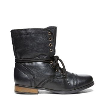 Steve Madden JTROOPA BROWN LEATHER
