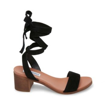 Image of ADRIANNE BLACK SUEDE