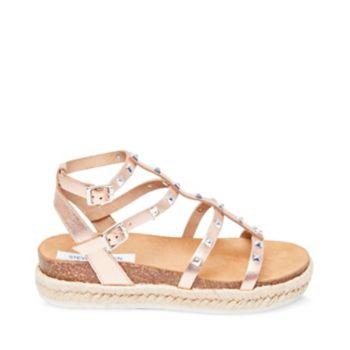Stevemadden sandals array rose gold side