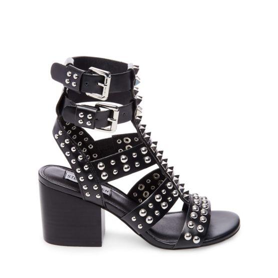 Steve Madden DOUBLE - Sandals - black