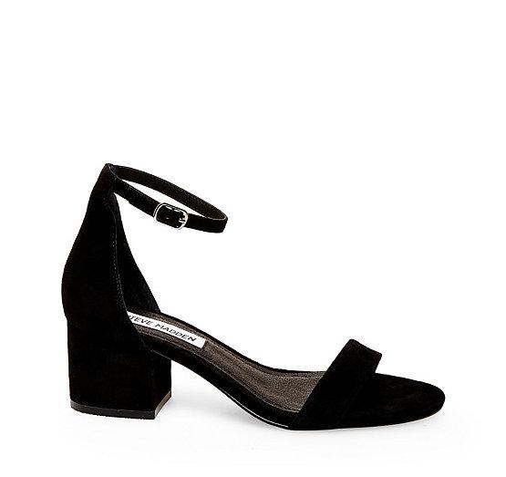 Sandals for Women On Sale, Black, Leather, 2017, 3.5 4.5 6.5 Steve Madden