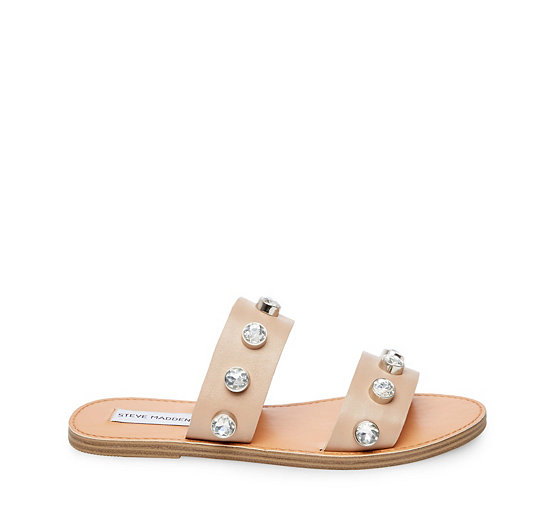 Jessy Leather Jewel Sandals LYXG0
