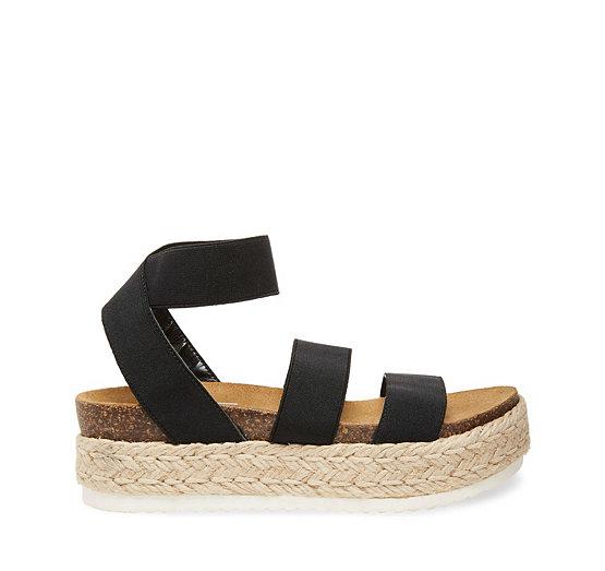 Steve Madden Kimmie Elastic Wedge Espadrille Sandals tw3luXAM