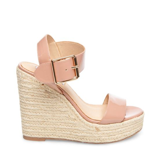 Santorini Sandal in Blush. - size 7.5 (also in 10,6,6.5,8,8.5,9,9.5) Steve Madden