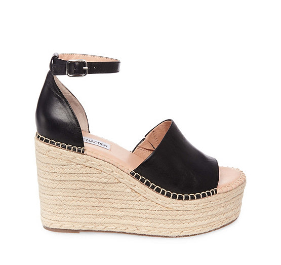Steve Madden Woven Espadrille Wedges Outlet Sale Cheap Exclusive AbEEBZ