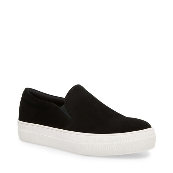 Steve Madden Gills-S Black Casual Sneakers
