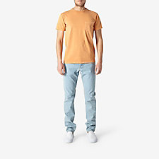 PIGMENT DYED CREW NECK SHORT SLEEVE TEE