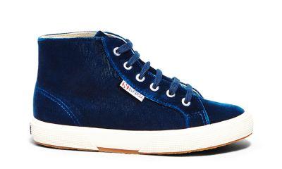 Superga 2095 velvtw blue side