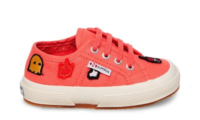 Superga 2750 cotpatchj orange multi side
