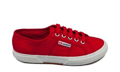 Superga 2750 cotu classic maroon red side