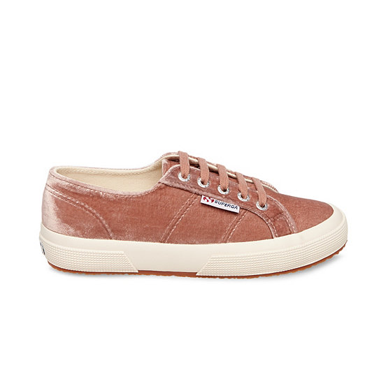 Womens Superga Trainers - Brown IG73111