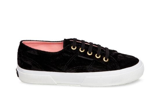 Superga Sneakers - Negro Madreperla