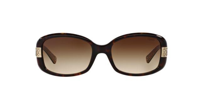 15b64c9d9a4 Coach HC8003 Tort Sunglasses
