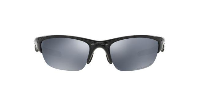 21f07f4ec9a Oakley Black Shiny Polarized OO9144 Half Jacket 2.0 Sunglasses ...