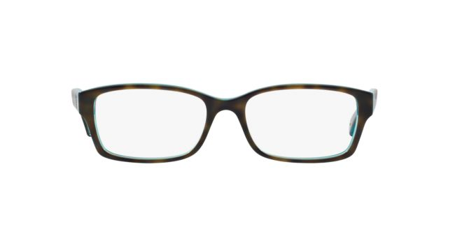 ccd6ea556ff Coach HC6040 Dark Tortoise Teal Women s Prescription Eyeglasses ...
