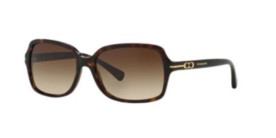 Coach HC8116 56 Womens Tortoise Prescription Sunglasses