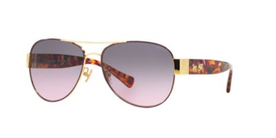 Coach Gold Tort HC7059 Sunglasses
