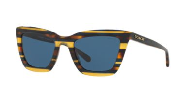 Coach HC6040 Dark Tortoise/Teal Women's Prescription Eyeglasses